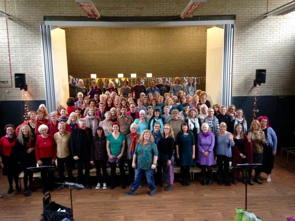 Harmonium with Walcot State Choir | November 2017