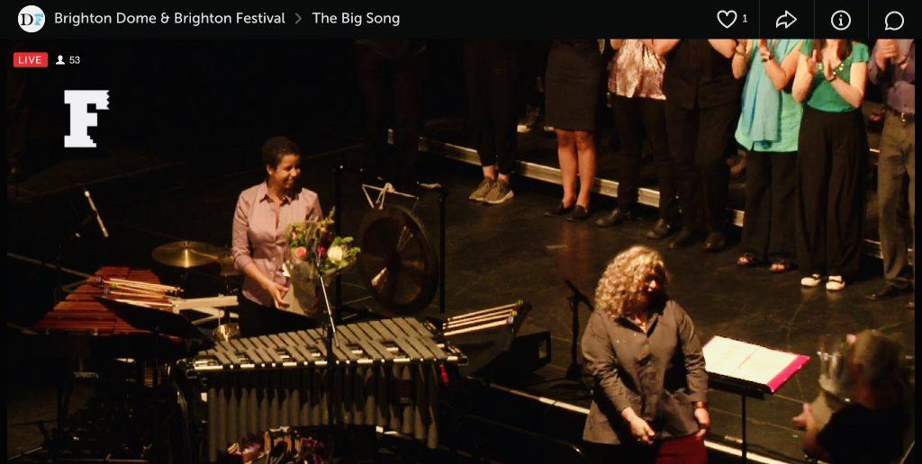The Big Song   Brighton Festival   2017
